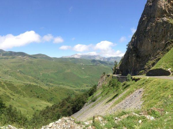 route Aubisque-Soulor à moto